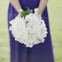 Elizabeth's Bridesmaids' Bouquets