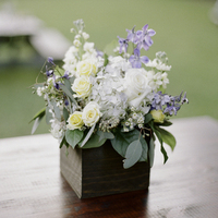 Rustic Vineyard Style Centerpieces