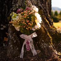 Tara's Bridal Bouquet