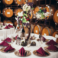 Winery Reception Tablescape