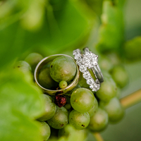 Kristin and Bo's Wedding Rings