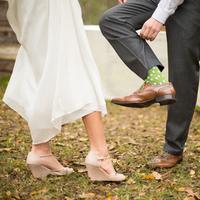 Kacie and Daniel's Wedding Shoes