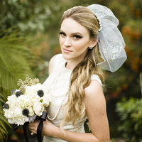 Retro Glam Bridal Style