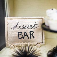 Dessert Display Signage