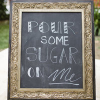 Sugar Chalkboard Sign