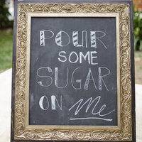 Sugar Chalkboard Sign