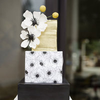 Modern Glam Wedding Cake