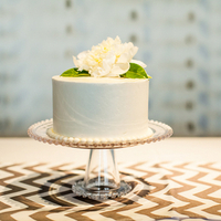Miniature Summer Wedding Cake