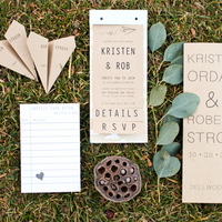 Organic Stationery Suite