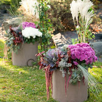 Forest Inspired Ceremony Flowers