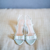Mariana's Wedding Day Shoes