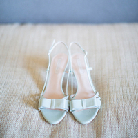 Mariana's Wedding Day Shoes