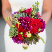 Mariana's Bridal Bouquet