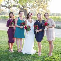 Mariana and her Bridesmaids