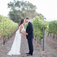Mariana and Jamison Kissing