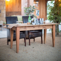 Vineyard Style Sweetheart Table