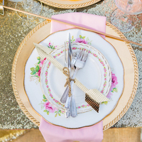 Romantic Glam Place Setting