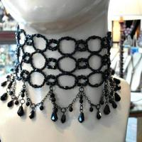 High neck choker @ $110.00