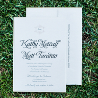 Kathy and Matt's Wedding Invitation