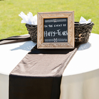 Ceremony Welcome Table