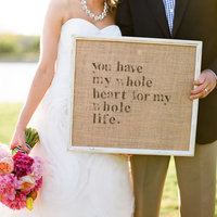 10 Fabulous Quotes to Display on Your Wedding Day
