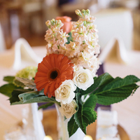 Bright Rustic Centerpieces