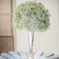 Baby's Breath in Mercury Vase
