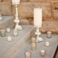 Mercury Candle Ceremony Decor