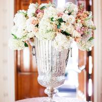 Giant Silver Mercury Vase