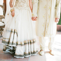 Indian Bride and Groom Attire