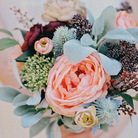 Spring Botanical Bride Bouquet