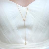 Bridal Lariat Necklace