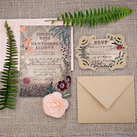 Organic Garden Invitations