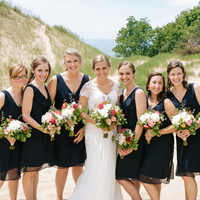 Carly and her Bridesmaids