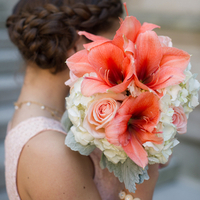 Amaryllis Bridesmaid Bouquets