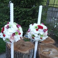 flowers and tables decorations