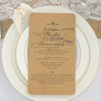 Rustic Eco-Friendly Place Settings
