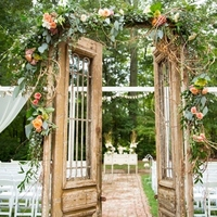 Charming Vintage Ceremony Door