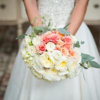 Feminine Garden Rose Bouquet