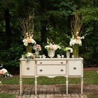 Antique Style Ceremony Altar
