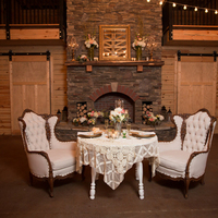 Cozy Fireside Sweetheart Table