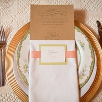 Vintage Pastel Place Settings
