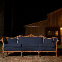 Navy Vintage Lounge Furniture
