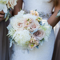 Laura's Bridal Bouquet