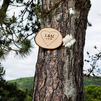 Rustic Tree Altar