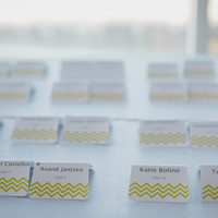 Modern Patterned Escort Cards