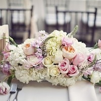 Rose and Veronica Centerpiece
