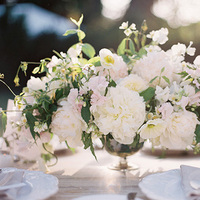 Romantic Ivory Centerpiece