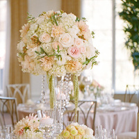 Tall Glam Pastel Centerpiece