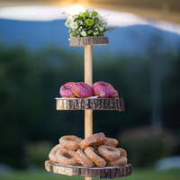 Rustic Donut Display